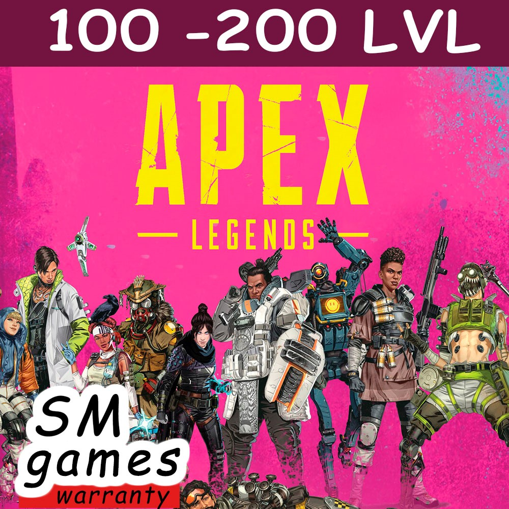 Фотография apex legends   100-200 lvl   online   no ban   origin