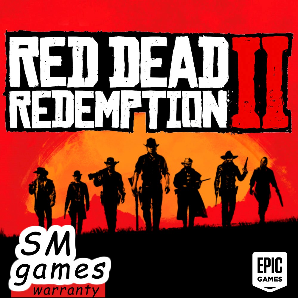 RED DEAD REDEMPTION 2 EPIC GAMES |WARRANTY|🔵
