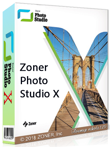 Zoner Photo Studio X 19.1804.2.61