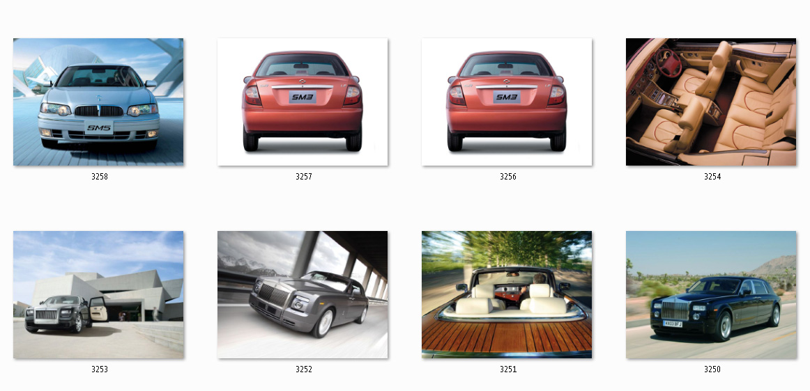 Database performance cars with photo (19 thousand).
