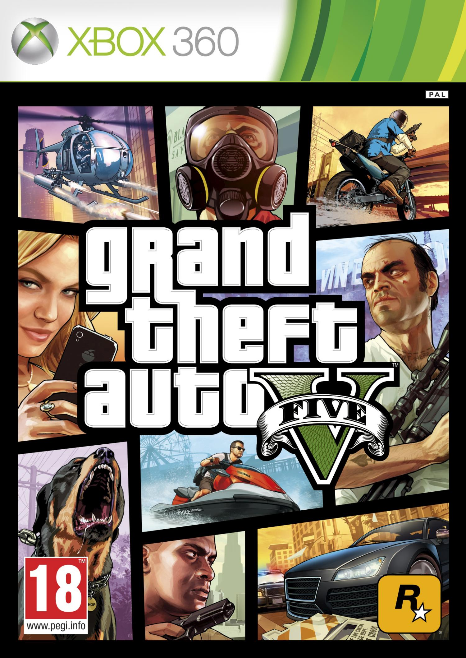 XBOX 360 ¦ ACCOUNT ¦ GTA V ¦ Grand Theft Auto