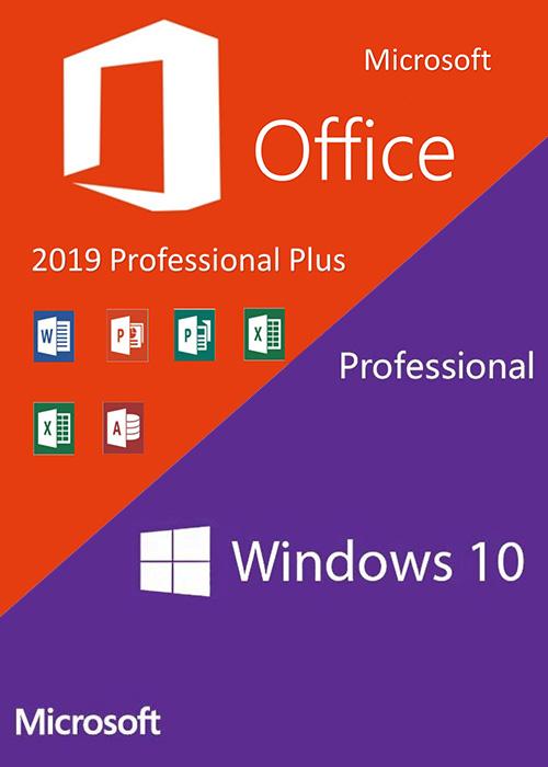 Фотография windows 10 home + microsoft office 2019 pro plus