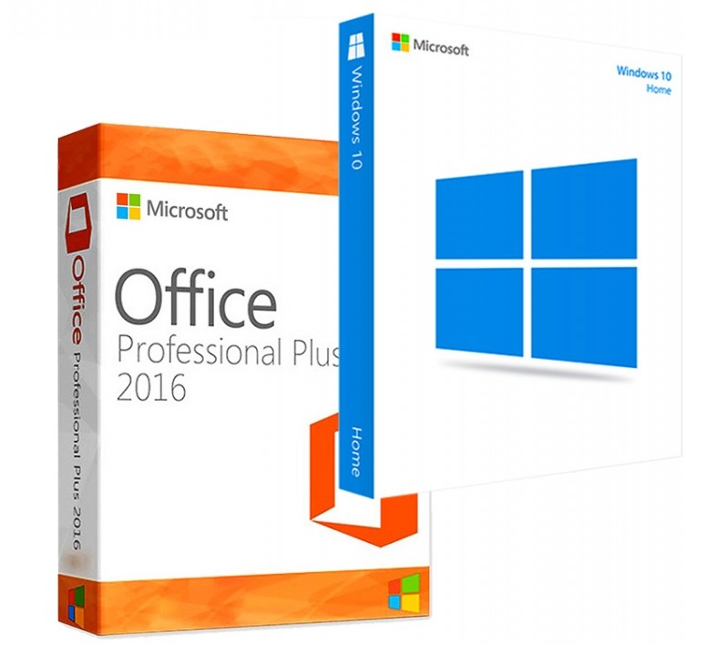 Фотография ключи windows 10 home + microsoft office 2016 standard