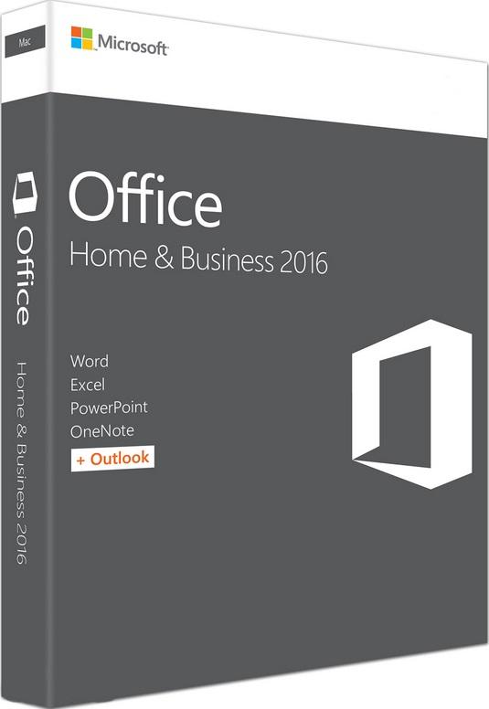 Фотография ключ microsoft office 2016 home and business - mac