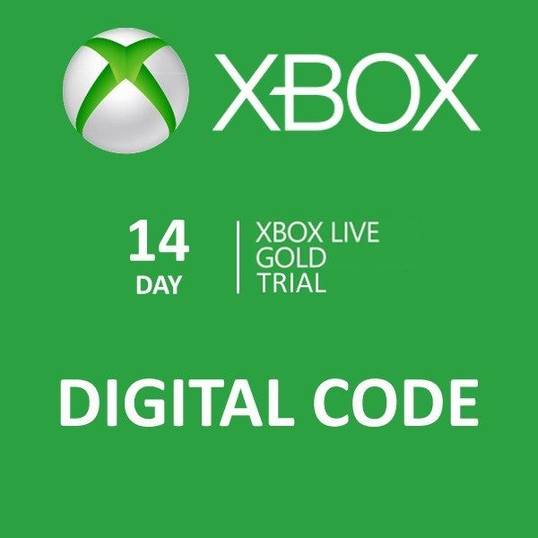 Xbox live gold 14 days Trial (Only for Xbox One!) 2019