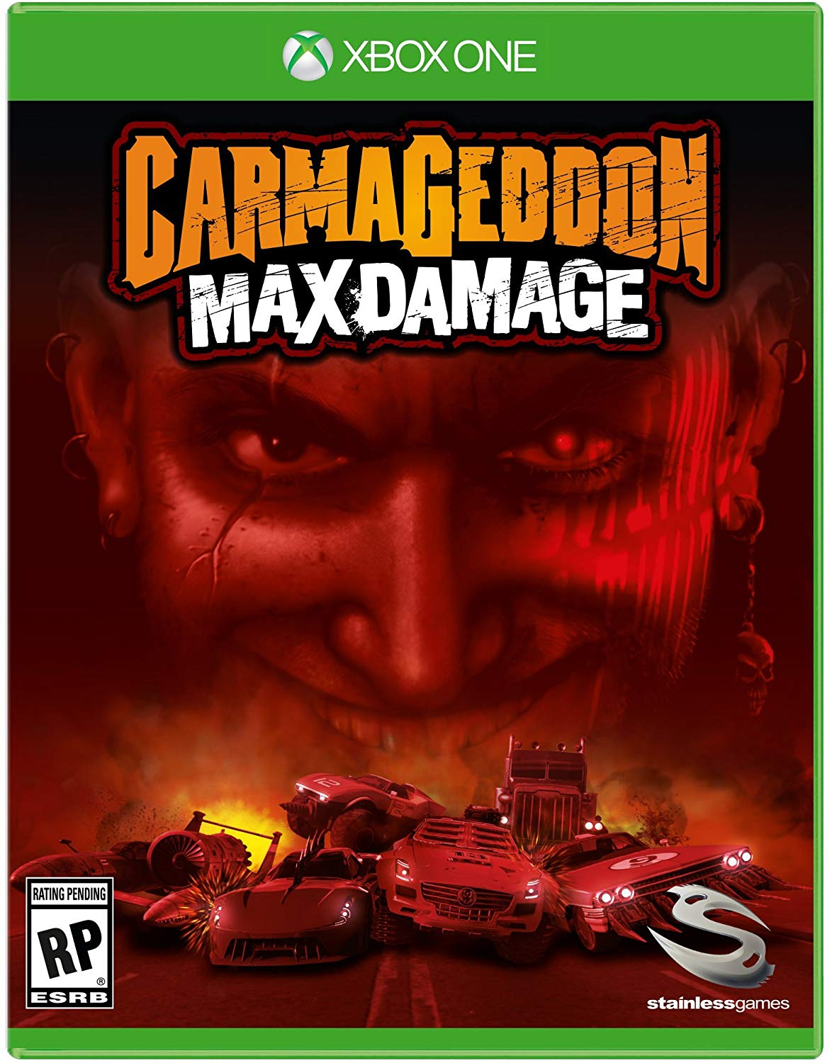 ✅Carmageddon: Max Damage Xbox one Key 🔑⭐