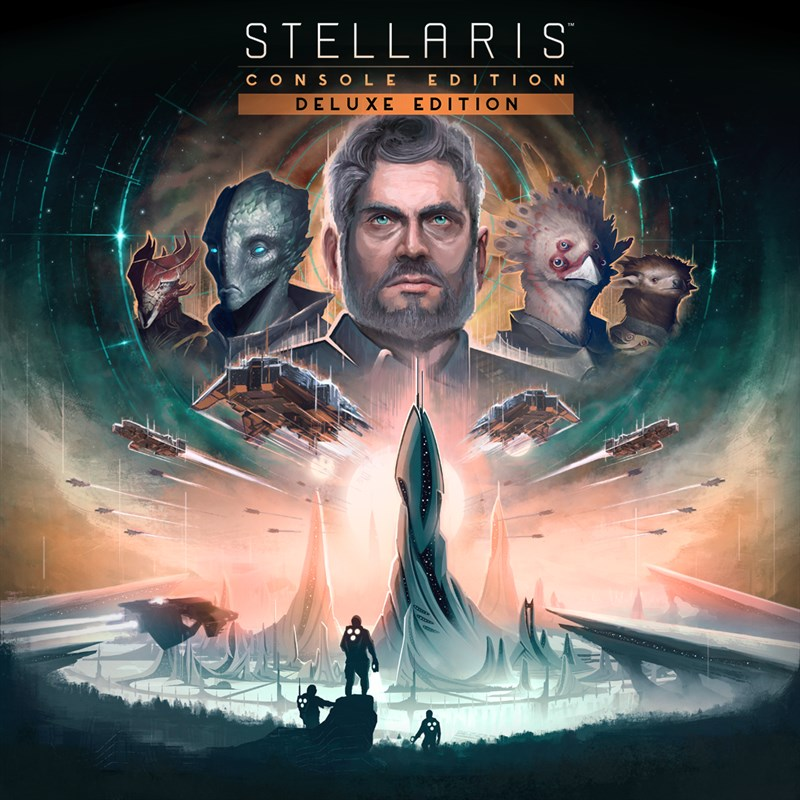 ✅Stellaris: Console Edition Deluxe Xbox One Key🔑 ⭐