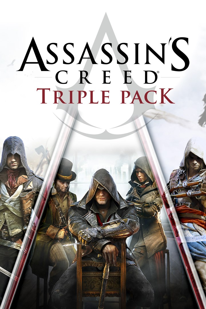 ✅Assassins Creed Black Flag,Unity,Syndicate Xbox one🔑