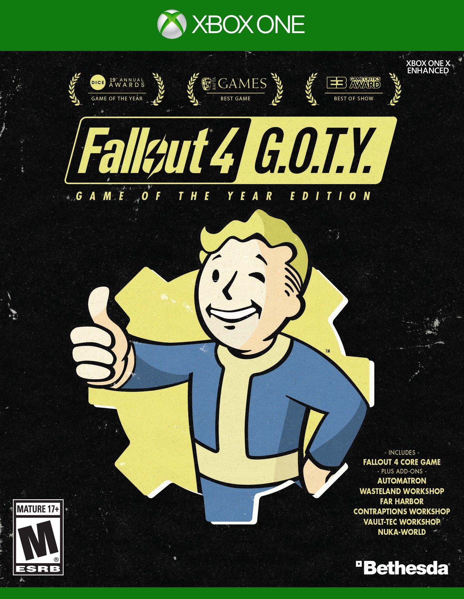 ✅Fallout 4: Game of the Year Edition XBOX ONE Key 🔑