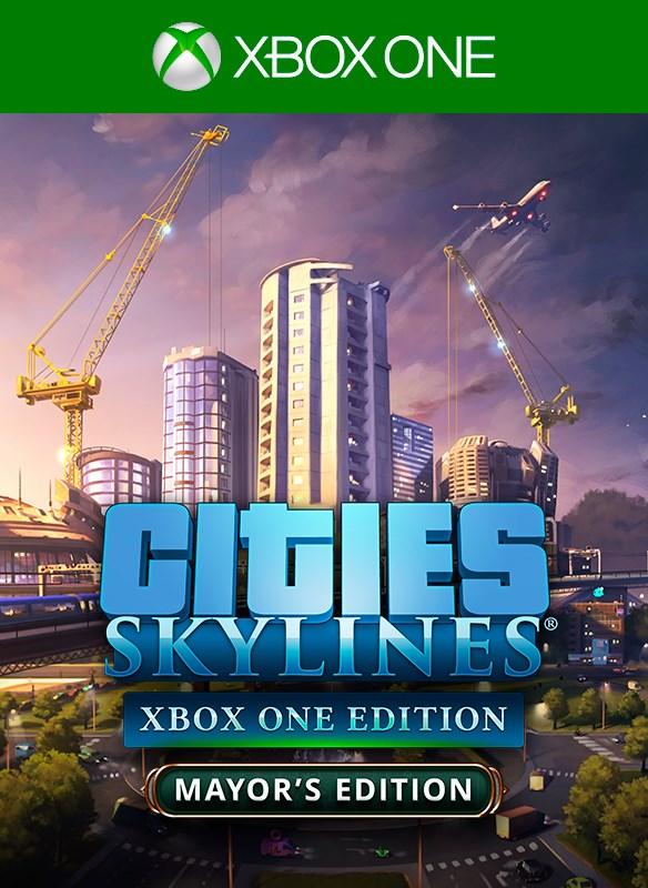 ✅Cities: Skylines:Mayor's Edition Xbox One  Ключ 🔑⭐🔥