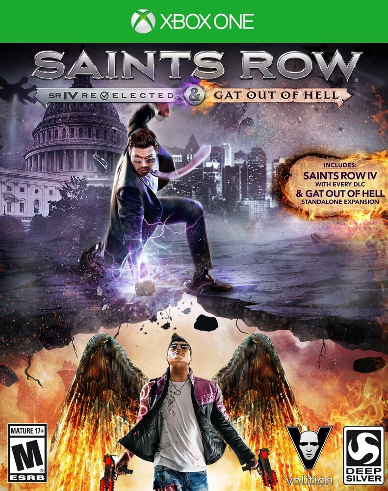 ✅Saints Row IV Re-Elected  Gat out of Hell Xbox One 🔑