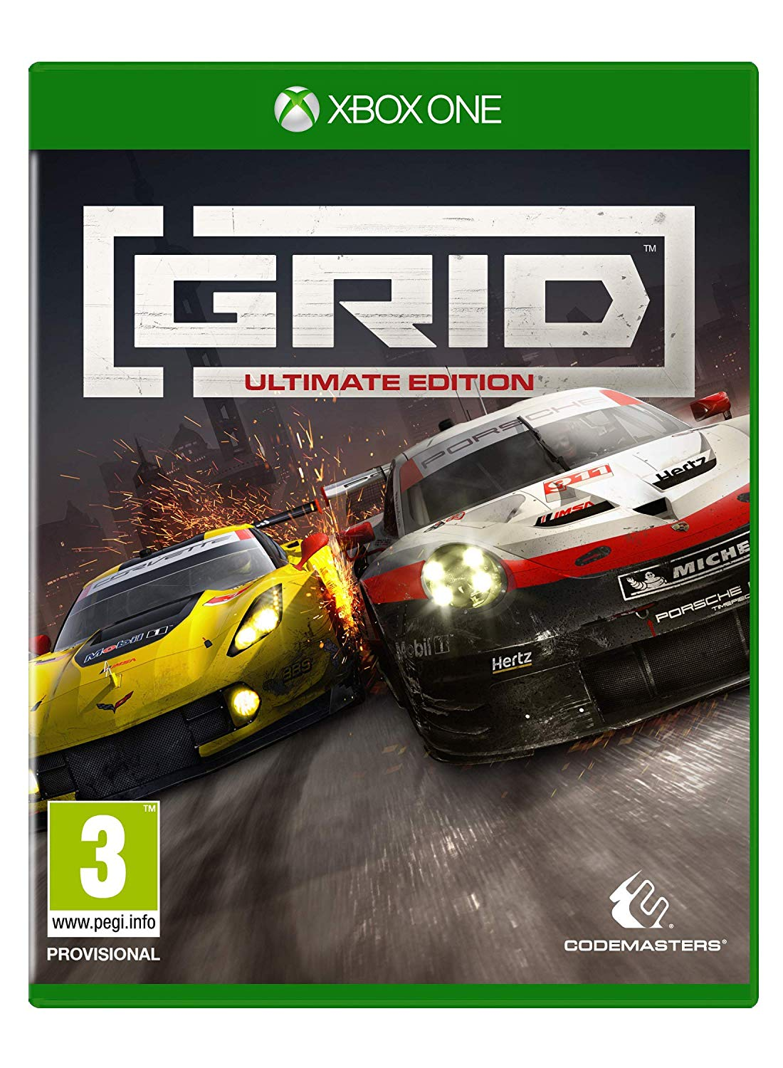 ✅GRID Ultimate Edition Xbox One Key 🔑⭐