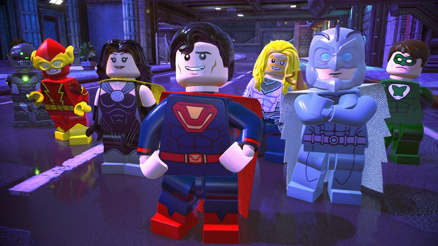 ✅LEGO DC Super-Villains Deluxe Edition Xbox One Key 🔑
