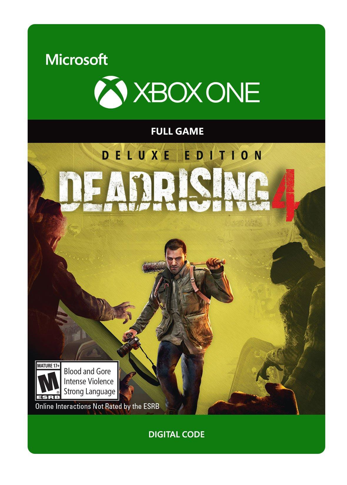 ✅Dead Rising 4 Deluxe Edition Xbox One Key 🔑⭐