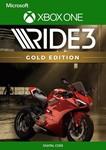 RIDE 3 Gold Edition Xbox One Ключ