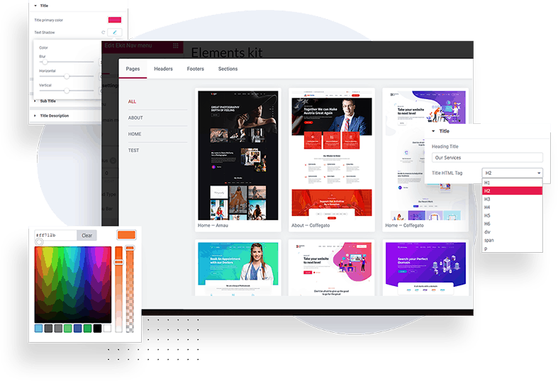 Buy now ElementsKit - The Ultimate Addons for Elementor and