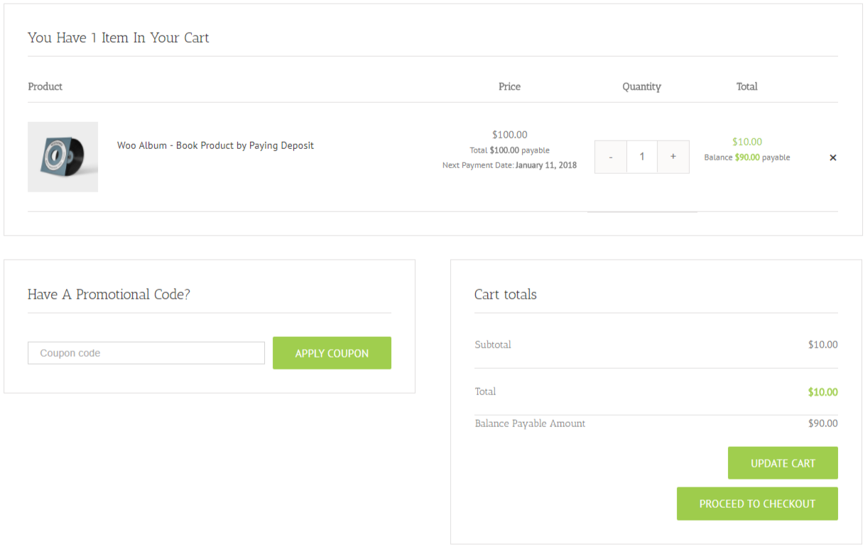 SUMO WooCommerce Payment Plans - Deposit Payments, etc.