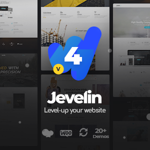 Jevelin - премиум тема WordPress
