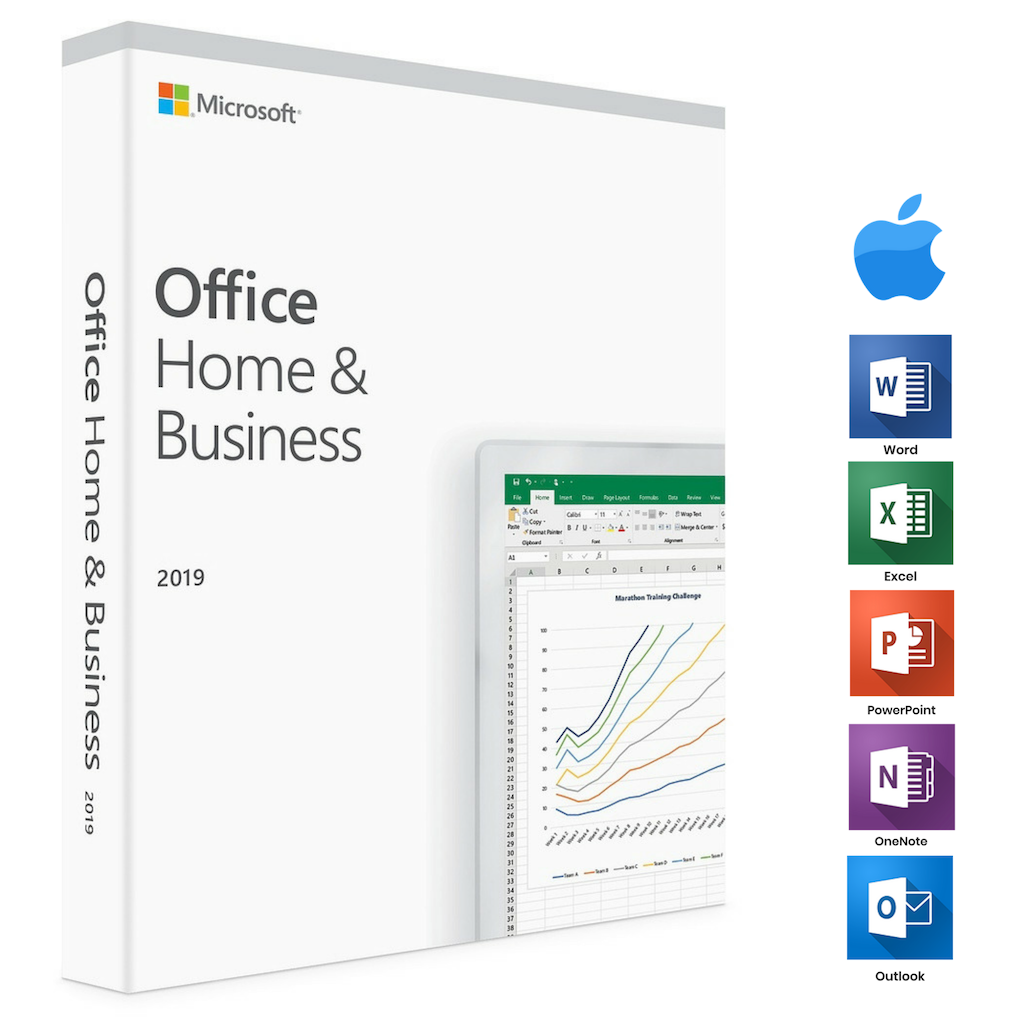 Office Home and Business 2019 MacOS / Windows LIFELONG