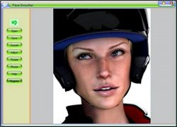 Graphic editor Face Smoother v1.32