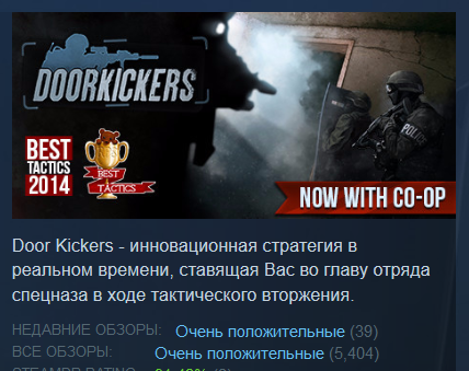 Door Kickers  (Steam Key/Region Free) + BONUS