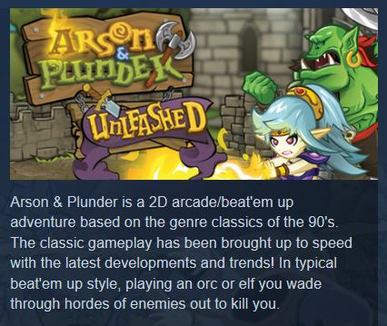 Arson and Plunder Unleashed (Steam Key/Region Free) +🎁