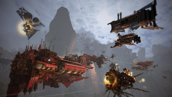 Guns of Icarus Alliance + Online (2IN1)  STEAM KEY ROW