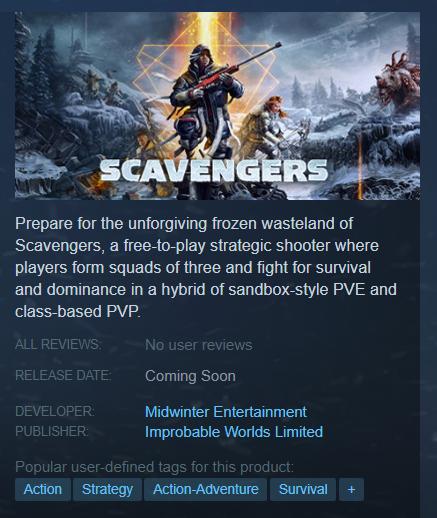 Фотография scavengers (full game) (steam key / region free) + 🎁