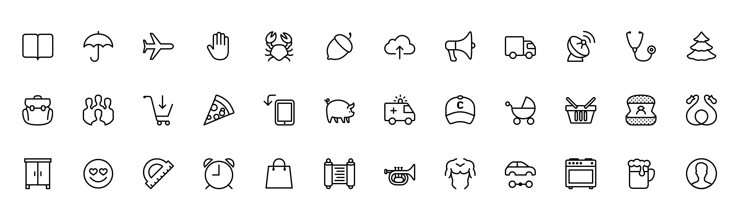 iOS 7 icons (icons in the style of iOS 7)