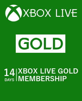 Xbox Live Gold 14 day Region Free + Gift Bouns