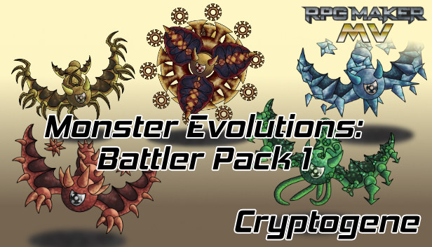 RPG Maker MV - Monster Evolutions: Battler Pack 1 Steam RU UA CIS