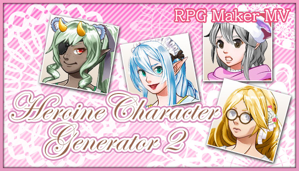 RPG Maker MV - Heroine Character Generator 2 Steam RU UA CIS