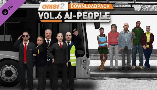 OMSI 2 Add-on Downloadpack Vol 6 - KI-Menschen Steam RU KZ UA CIS