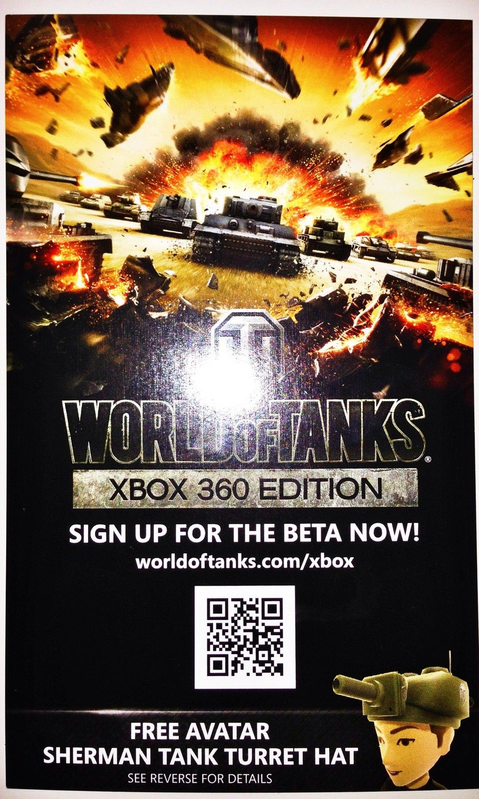 Sherman Tank Xbox Live World Of Tanks Avatar
