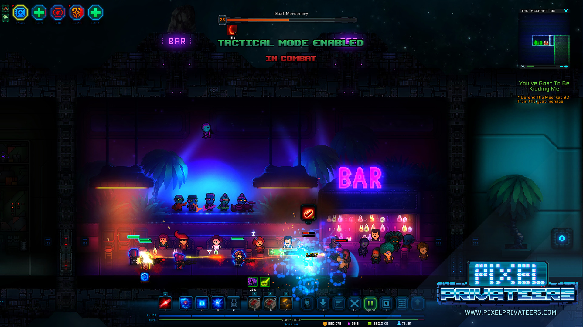 Pixel Privateers (Steam Global Account)