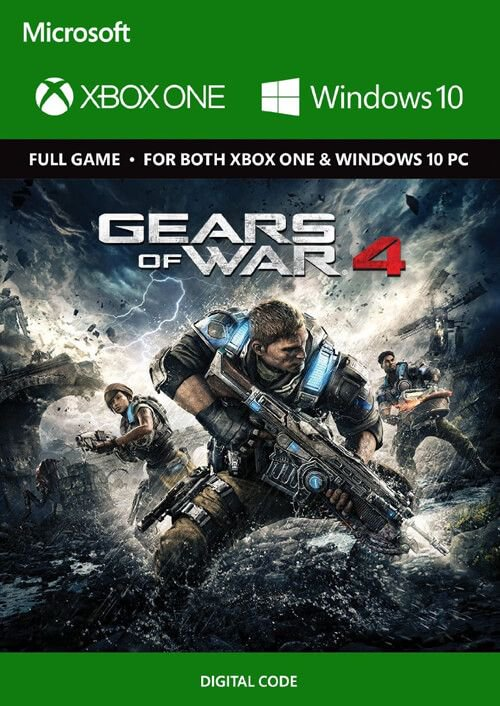 Buy Gears of War 4 XBOX ONE + Windows 10 Region Free and