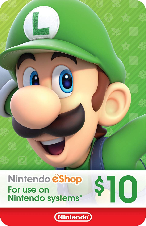 $10 Nintendo eShop Gift Card [Digital Code] 2019