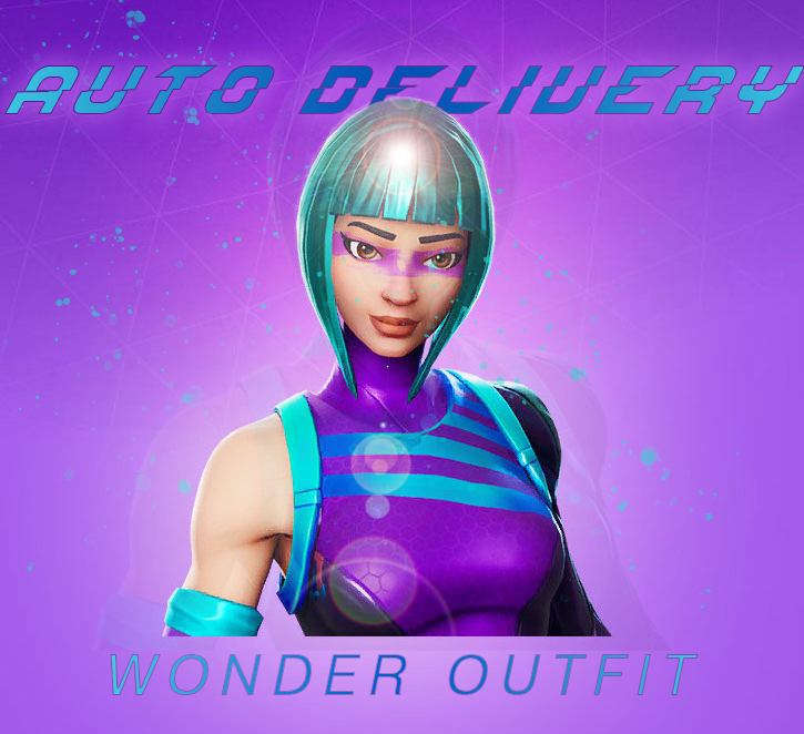 ❤️WONDER OUTFIT ⚡️INSTANT⚡️ - FORTNITE +DISCOUNT🔥