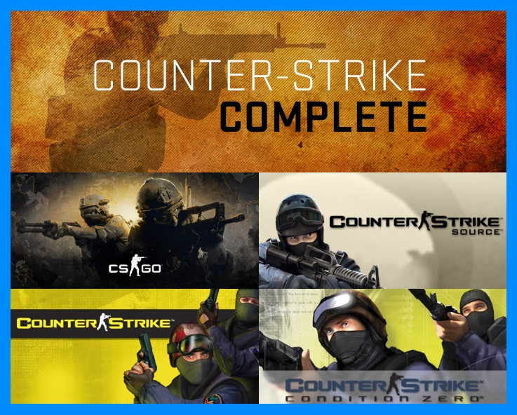 10x gift CS GO Complete on Steam