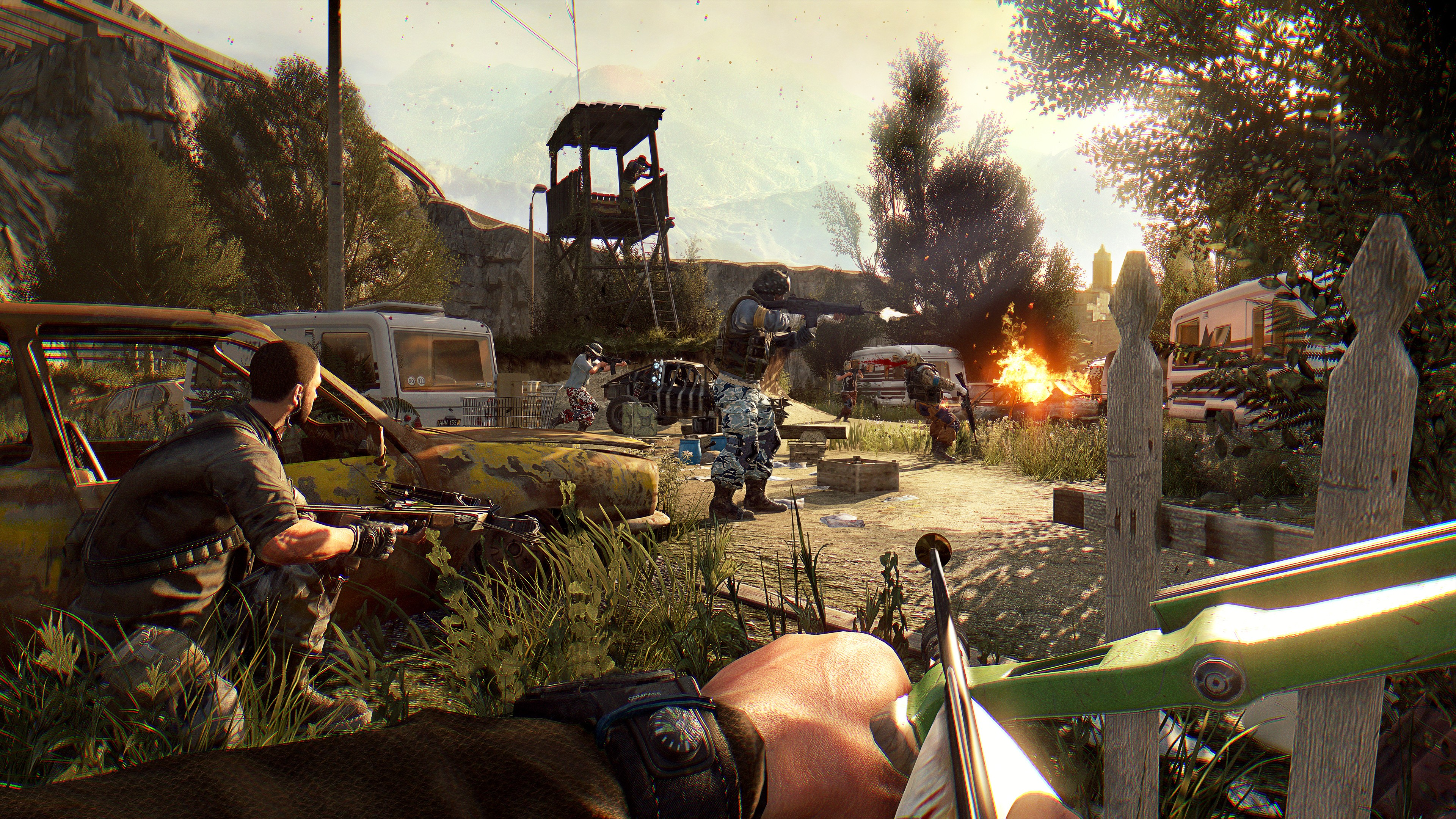Dying Light: The Following - Enhanced Edition SteamGift