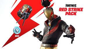 Fortnite Starter Pack: Red Strike Skins (600 Vbucks) TR
