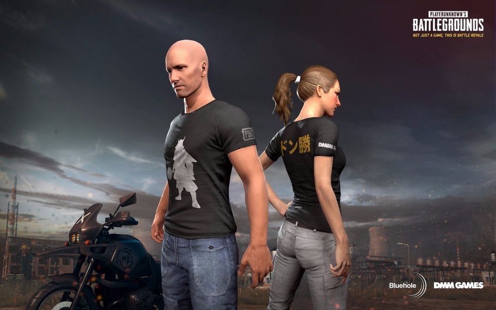 PUBG DMM t-shirt 🐱‍👤(LEGAL CODE)