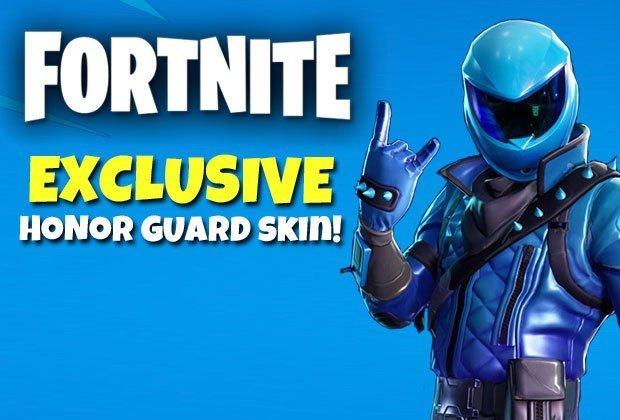Fortnite Honor Guard Skin 🔑 Global / Region Fre 2019