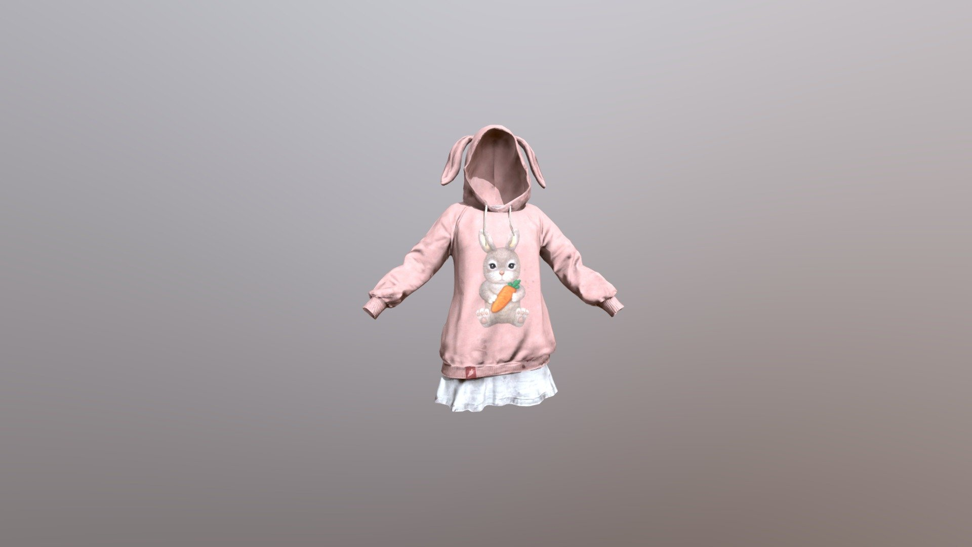 PUBG Rabbit Season Hoodie 🐇 (LEGAL CODE) Region Free