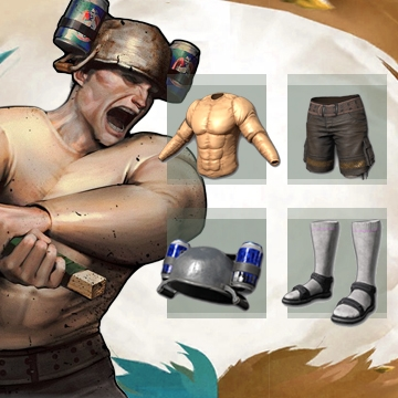 PUBG Barbarian set (legal code) Region free