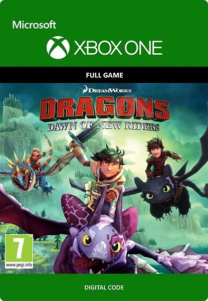 DreamWorks Dragons Dawn of New Riders - Xbox One key