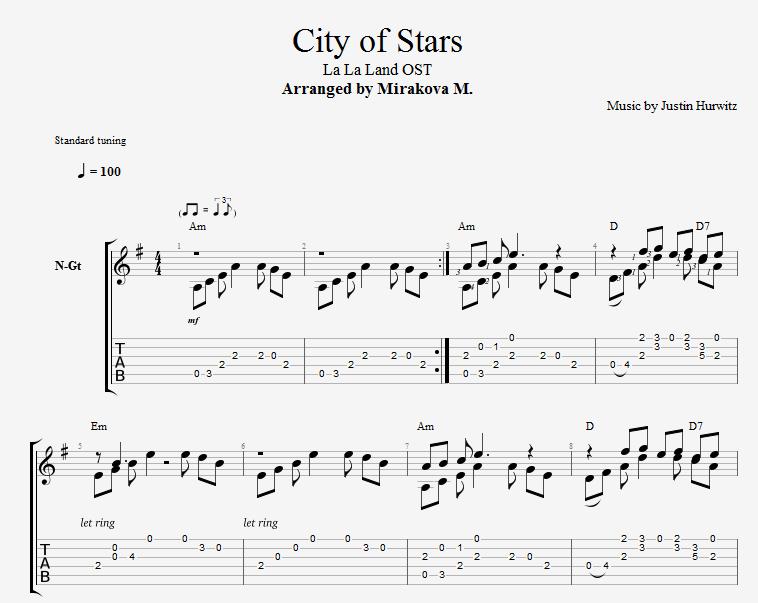 City of Stars - La La Land OST 2019