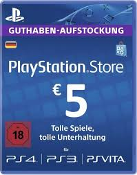 PSN 5 EUR DE PLAYSTATION NETWORK GERMANY