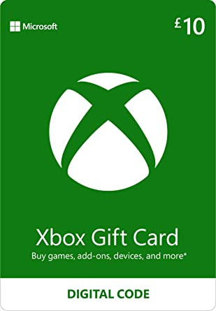 XBOX 10 GBP UK GIFT CARD UNITED KINGDOM