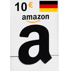 AMAZON 10 EUR GIFT CARD GERMANY